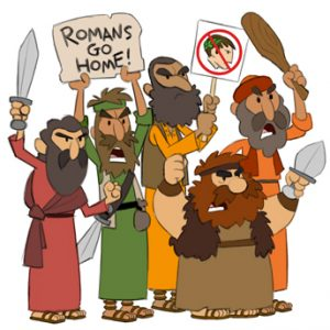 First Century Jewish Zealots ~ Concept Drawing