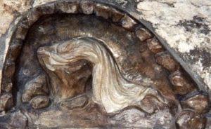 Jesus praying in the Garden of Gethsemane