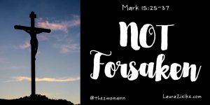 Jesus: Not Forsaken