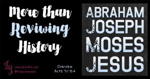 Acts 7: More than Reviewing History