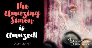 """The Amazing Simon"" Is Amazed"
