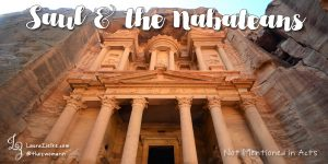 Saul & the Nabateans