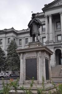 Memorial to Union Soldier, Denver, Colorado