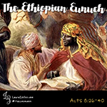 This week, we continued our study of Philip and the Ethiopian eunuch by investigating what we know (and don't know) about the eunuch: where he came from, what his place was in society, how he traveled, and why someone from so far away would have made a pilgrimage to Jerusalem. We also imagined the story from the eunuch's point of view. We also briefly discussed the long history of Christianity in Ethiopia as well as their claims on the Ark of the Covenant.