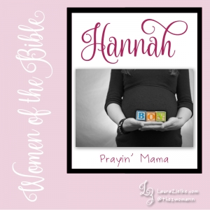 "Women's History Month: Women of the Bible.Day 11: Hannah.When we first meet Hannah, she is at home with her husband Elkanah, his other wife, and their children. Hannah is barren..Elkanah'a family travels to the tabernacle at Shiloh annually with a peace offering for the Lord. Since only part of it is burned up, the rest is returned to the worshiper to be eaten in a meal of thanksgiving..Elkanah divides the portions equally beteween himself, his two wives, his sons and daughters. Every year, Peninnah's side receives more and more of the meat while Hannah's portion remains the same.* Peninnah never misses this chance to shame her barren counterpart. Eventually she pushes too far: Hannah bursts into tears and refuses to eat..In typical hubby ""fix-it"" fashion, Elkanah attempts to comfort her saying, ""But, Babe! You've got ME! Am I not worth more to you than ten sons?"" (my paraphrase).As soon as the meal is over, Hannah rises up and heads straight to the tabernacle—alone..""She was deeply distressed and prayed to the LORD and wept bitterly...she was speaking in her heart; only her lips moved, and her voice was not heard"" (1 Sam. 1:10,13a)..Eli the priest observes her, and reprimands her for being drunk! Hannah soberly explains, ""I have drunk neither wine nor strong drink, but I have been pouring out my soul before the LORD...I have been speaking out of my great anxiety and vexation"" (1 Sam. 1:15,16b)..Eli is embarrassed, blesses Hannah, and asks the Lord to grant her request. Unbeknownst to him, Hannah has vowed that—should God give her a son—she would return him to the Lord's service..Guess what? After returning home, Elkanah and Hannah make love, and she conceives. When the time comes, she gives birth to a baby boy whom they name ""Samuel"" (lit: ""God has heard"")..After she weans Samuel, Hannah takes him to Shiloh along with her own peace offering. She leaves Samuel in Eli's care..Samuel becomes a prophet instrumental in the transition from judges to kings in Israel..The Lord blesses Hannah and Elkanah with three more sons and two daughters..You can read Hannah's story in 1 Samuel 1-2."