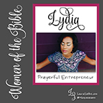 "Women's History Month: Women of the Bible.Day 25: Lydia.When we first meet Lydia, she is at a house of prayer located near a river just outside the Roman colony at Philippi in Greece..Lydia is originally from Thyatira (in modern-day Turkey), a city famous for its artisan guilds and expensive ""Tyrian purple"" dye—made from the secretions of sea snails..Lydia has set-up her business in Philippi. She is ""a dealer in purple cloth"" (Acts 16:14b). Purple cloth is worn exclusively by the Roman elites due to its high cost. (Sea snail secretions don't come cheap!).Lydia is also a God-fearer. Though she is not Jewish, she worships the God of the Jews regularly and because of this, she is among the first in Europe to hear the gospel message from the Apostle Paul..While traveling through Asia Minor, Paul has a vision that he is being called to Macedonia; therefore, he and his companions—including Luke, Timothy, and Silas—travel west and eventually arrive in Philippi..Philippi is a comsopolitan city situated on a hill overlooking the Aegean Sea with the Via Egnatia—a Roman road that connects Europe and Asia—running right through it. .As is his practice, the first place Paul takes his team on their first Sabbath in Philippi is to a synagogue (or ""house of prayer""). Upon arrival, the men are greeted by the women who have gathered there to pray: Lydia is one of them..The Lord opens Lydia's heart to hear the truth taught by Paul, and she responds by being baptized—both she and the members of her household. Lydia is the first convert to the Way in Europe!.Because she is a woman of means, she convinces Paul and the others to stay with her at her house. Thanks to her hospitality and generosity, Paul does not have to work to support himself in Philippi..While in Philippi, Paul and Silas are brutally beaten and thrown in jail. Once they are released, they immediately return to Lydia's house where they encourage her to be strong and keep the faith. Then they left..You can read Lydia's story in Acts 16. Paul's letter to Lydia and the other Christ followers in Philippi is preserved in the ""Epistle to the Philippians.""."