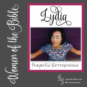 "Women's History Month: Women of the Bible.Day 25: Lydia.When we first meet Lydia, she is at a house of prayer located near a river just outside the Roman colony at Philippi in Greece..Lydia is originally from Thyatira (in modern-day Turkey), a city famous for its artisan guilds and expensive ""Tyrian purple"" dye—made from the secretions of sea snails..Lydia has set-up her business in Philippi. She is ""a dealer in purple cloth"" (Acts 16:14b). Purple cloth is worn exclusively by the Roman elites due to its high cost. (Sea snail secretions don't come cheap!).Lydia is also a God-fearer. Though she is not Jewish, she worships the God of the Jews regularly and because of this, she is among the first in Europe to hear the gospel message from the Apostle Paul..While traveling through Asia Minor, Paul has a vision that he is being called to Macedonia; therefore, he and his companions—including Luke, Timothy, and Silas—travel west and eventually arrive in Philippi..Philippi is a comsopolitan city situated on a hill overlooking the Aegean Sea with the Via Egnatia—a Roman road that connects Europe and Asia—running right through it. .As is his practice, the first place Paul takes his team on their first Sabbath in Philippi is to a synagogue (or ""house of prayer""). Upon arrival, the men are greeted by the women who have gathered there to pray: Lydia is one of them..The Lord opens Lydia's heart to hear the truth taught by Paul, and she responds by being baptized—both she and the members of her household. Lydia is the first convert to the Way in Europe!.Because she is a woman of means, she convinces Paul and the others to stay with her at her house. Thanks to her hospitality and generosity, Paul does not have to work to support himself in Philippi..While in Philippi, Paul and Silas are brutally beaten and thrown in jail. Once they are released, they immediately return to Lydia's house where they encourage her to be strong and keep the faith. Then they left..You can read Lydia's story in Acts 16. Paul's letter to Lydia and the other Christ followers in Philippi is preserved in the ""Epistle to the Philippians."""