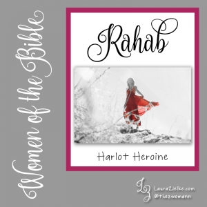 "Women's History Month: Women of the Bible.Day 7: Rahab.We first meet Rahab at her home located literally within the wall of the city of Jericho. She is a prostitute and has offered lodging to two Hebrew men who are visiting the area..When the King of Jericho realizes her guests are scoping out his city for a possible invasion, he sends his own men to Rahab's home to apprehend them. .Rahab intuitively discerns the situation and chooses to ally herself with the Hebrews because she has heard about their powerful God. She takes them to her roof and has them hide under stalks of flax which she had previously laid out to dry.When the king's men arrive, she explains that her guests have left and sends them on a wild goose chase. The spies owe Rahab their lives, and she knows it..After the king's men have left the city and the gates have been shut, she returns to the rooftop where her guests are still hiding and makes her intentions known: She wants them to save her entire family when the day of battle arrives..They strike a deal: Rahab will hang a scarlet rope out of her window in the city wall, and anyone within her home will be spared. She then helps the spies escape the city and avoid capture..At Joshua's battle of Jericho, Rahab and her family are spared. She is a hero to the Hebrew people, and not merely because she saved the spies. Rahab eventually married a Hebrew man and gave birth to a son named Boaz making her the great-great-grandmother of King David..Rahab is one of four women mentioned in Matthew's genealogy of Jesus; she is listed in the ""Hall of Faith"" in Hebrews 11; and she is held up as an example of faith evidenced by works in James 2..You can read Rahab's story in Joshua 2-6."
